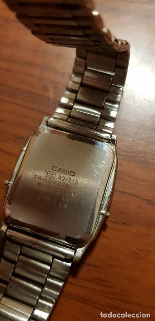 Vintage: RELOJ CASIO AQ-718. VINTAGE - Foto 4 - 221652980