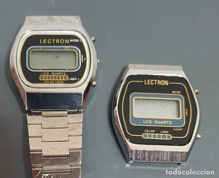 LOTE 2 RELOJES, DIGITALES, VINTAGE. NOS (Relojes - Relojes Vintage )