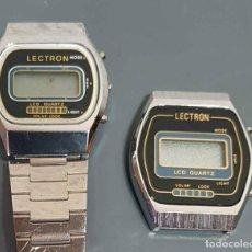 Vintage: LOTE 2 RELOJES, DIGITALES, VINTAGE. NOS. Lote 221656011
