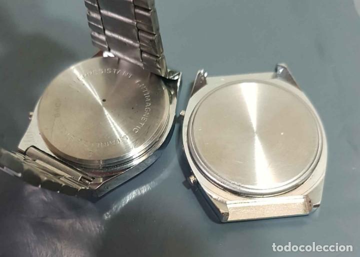 Vintage: Lote 2 relojes, digitales, Vintage. NOS - Foto 2 - 221656011