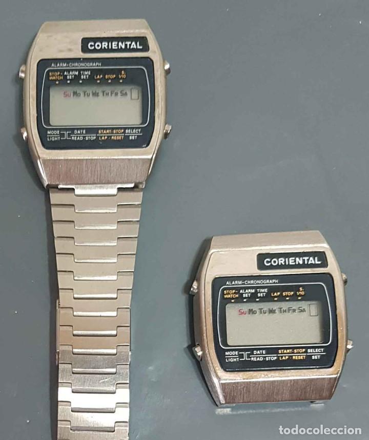 Vintage: Lote 2 relojes, digitales, Vintage. NOS - Foto 2 - 221656390