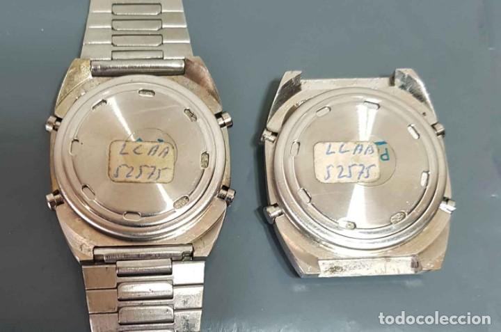 Vintage: Lote 2 relojes, digitales, Vintage. NOS - Foto 3 - 221656390