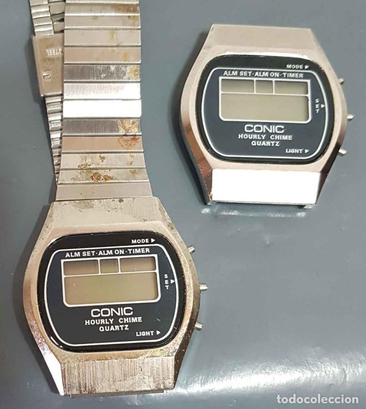 Vintage: Lote 2 relojes, digitales, Vintage. NOS - Foto 2 - 221656600