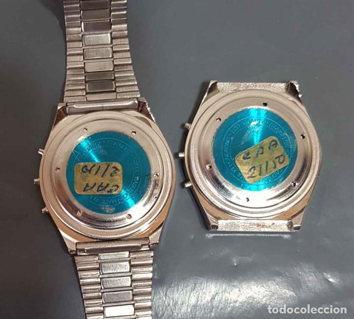 Vintage: Lote 2 relojes, digitales, Vintage. NOS - Foto 3 - 221656600