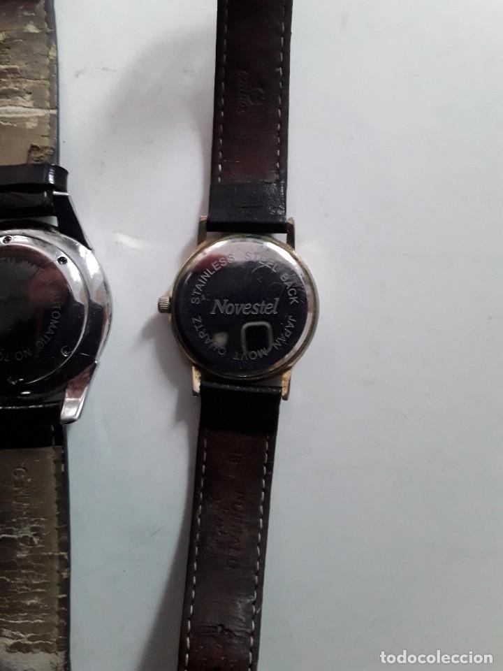 Vintage: Dos relojes, uno Patek Philippe Geneve (copia) y el otro Novestel Quartz. Para restaurar - Foto 6 - 221657490