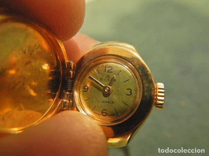RELOJ ANILLO WILSON (Relojes - Relojes Vintage )