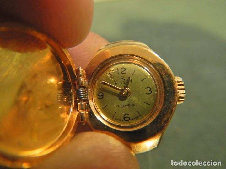 Vintage: Reloj anillo wilson - Foto 4 - 221658762