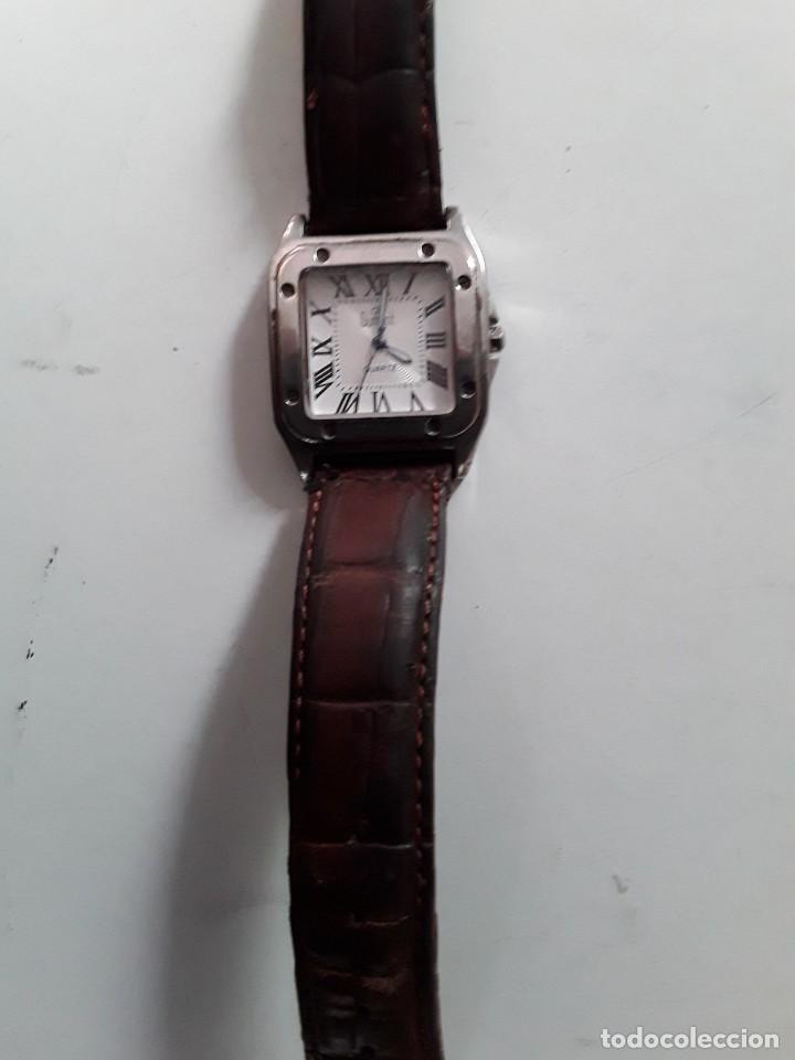 Vintage: Reloj Dumont Quartz. Funciona - Foto 2 - 221661568