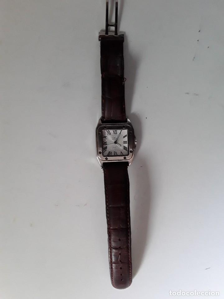 Vintage: Reloj Dumont Quartz. Funciona - Foto 6 - 221661568