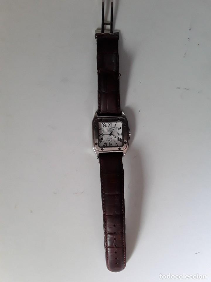 Vintage: Reloj Dumont Quartz. Funciona - Foto 7 - 221661568