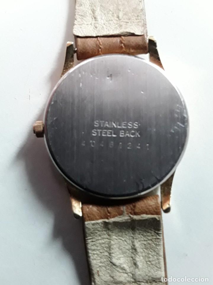 Vintage: Reloj comercial Hoteles Meliá, numerado, maquinaria japonesa Miyota. Funciona. De cuarzo - Foto 7 - 221662570