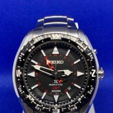 Vintage: RELOJ SEIKO KINETIC GMT REF 5M85-0AE0. Lote 221684357