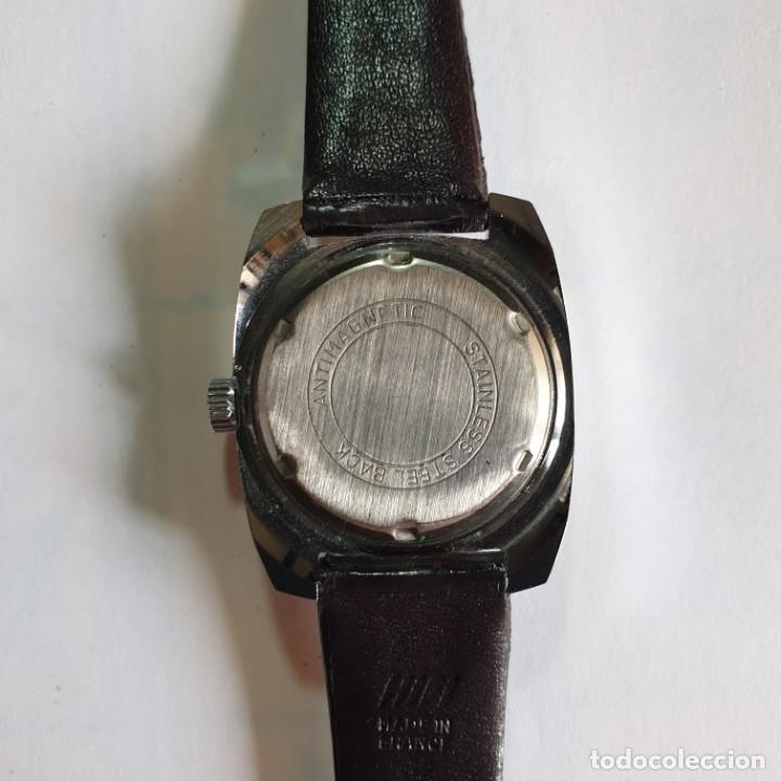 Vintage: RELOJ FLIPPER ANTICHOC WATERPROOF. 17 RUBIS. RETRO. VINTAGE. MUJER. SIN USAR NUEVO - 3x3,5 cm. - Foto 4 - 228968565