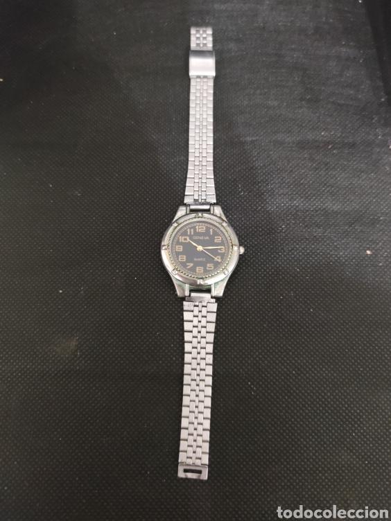 PRECIOSO RELOJ GENEVA DE QUARZO, FUNCIONA PERFECTAMENTE. (Relojes - Relojes Vintage )