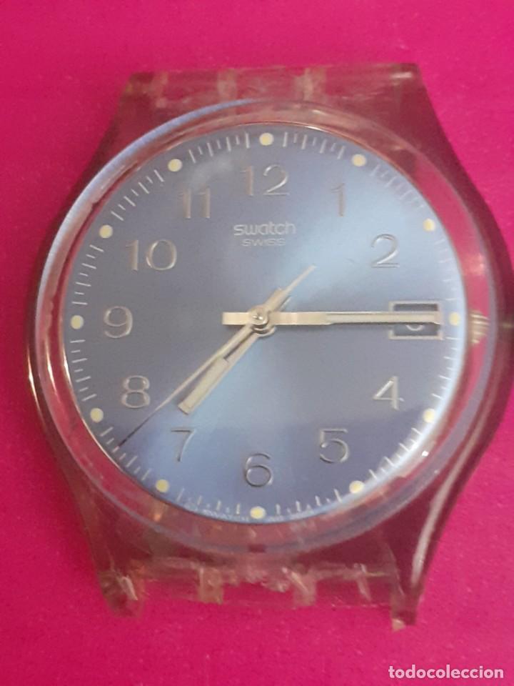 RELOJ SWATCH SUIZO PARA REPARAR O PIEZAS SIN CORREA (Relojes - Relojes Vintage )