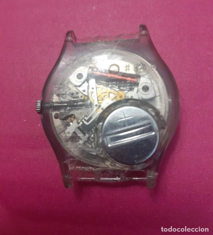 Vintage: Reloj Swatch suizo para reparar o piezas sin correa - Foto 3 - 231145090