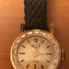 Vintage: RELOJ DE MUJER DUWARD KING. Lote 231838085