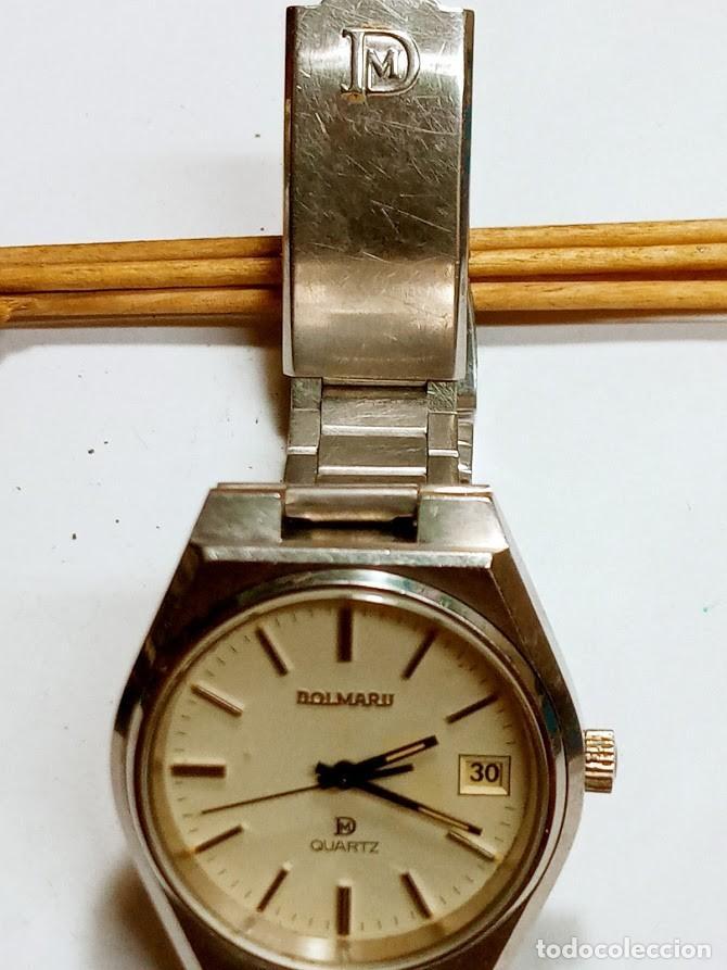 DOLMARU CAB. VINTAGE PARA COLECCIONISTAS - 2 FOTOS - VA PERFECTO - VER MÁQUINA (Relojes - Relojes Vintage )