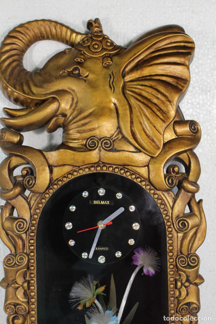 Vintage: Reloj de luces - elefante - marca belmax - Foto 2 - 268861444