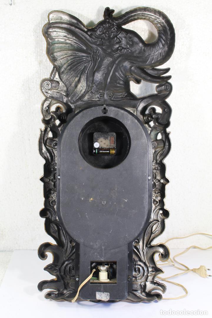 Vintage: Reloj de luces - elefante - marca belmax - Foto 3 - 268861444