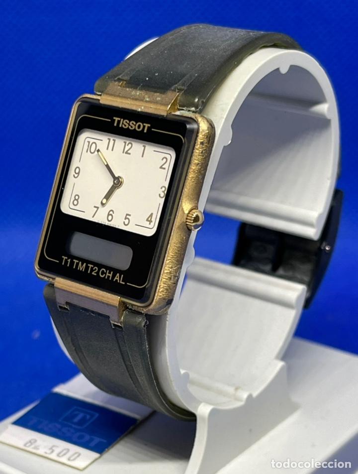 Vintage: Reloj Tissot Two time no funciona - Foto 2 - 234773780