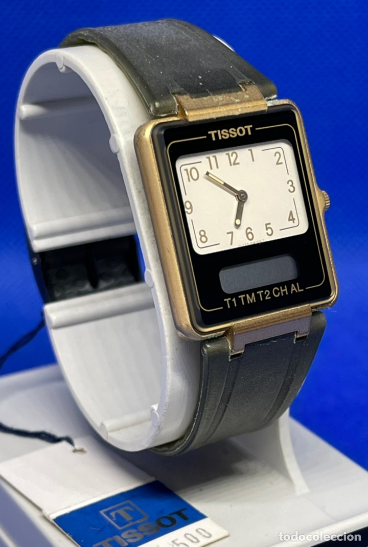 Vintage: Reloj Tissot Two time no funciona - Foto 3 - 234773780