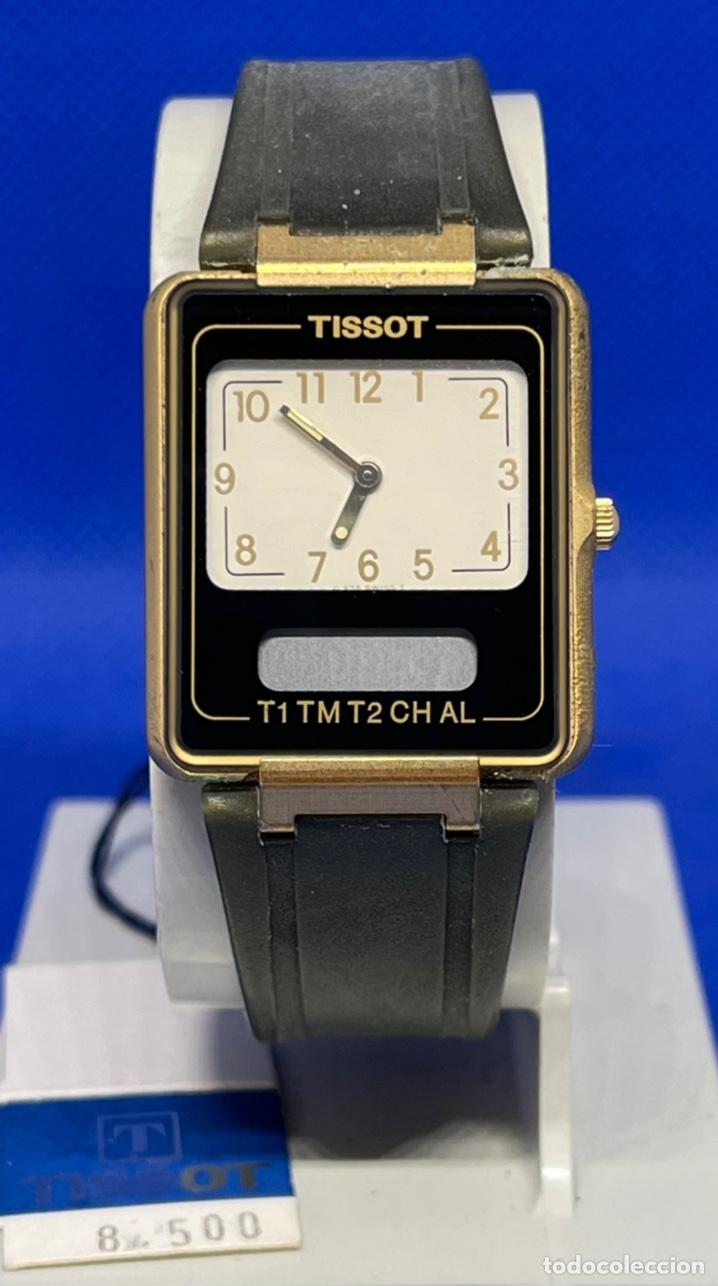 RELOJ TISSOT TWO TIME NO FUNCIONA (Relojes - Relojes Vintage )