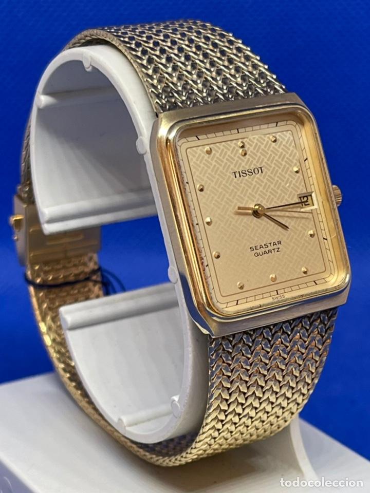 Vintage: Reloj Tissot Seastar vintage no funciona antiguo stock - Foto 2 - 234777740