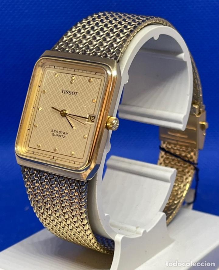 Vintage: Reloj Tissot Seastar vintage no funciona antiguo stock - Foto 3 - 234777740