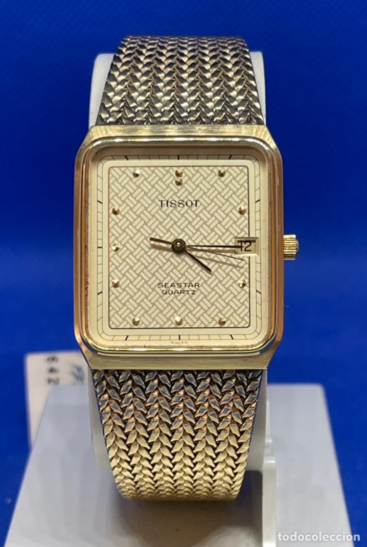 RELOJ TISSOT SEASTAR VINTAGE NO FUNCIONA ANTIGUO STOCK (Relojes - Relojes Vintage )