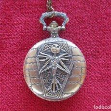 Vintage: RELOJ DE DE BOLSILLO DE CUARZO PARA COLGAR, - SE ENVÍA FUNCIONANDO .. Lote 235093535