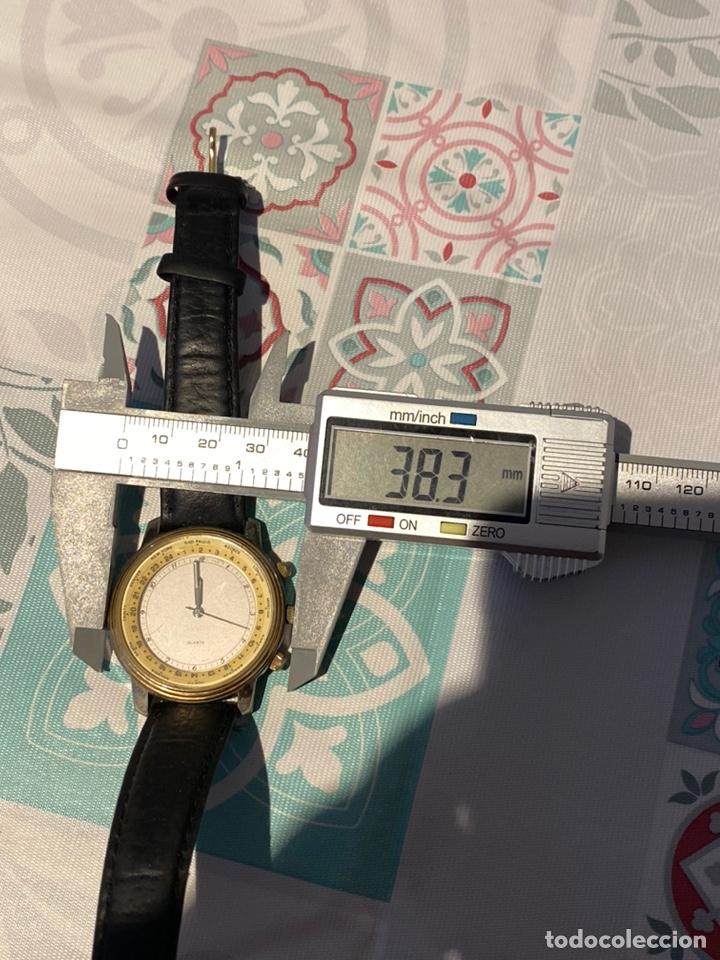 Vintage: Antiguo reloj francés raro cronógrafo con dos biseles.funciona perfectamente - Foto 5 - 235601930