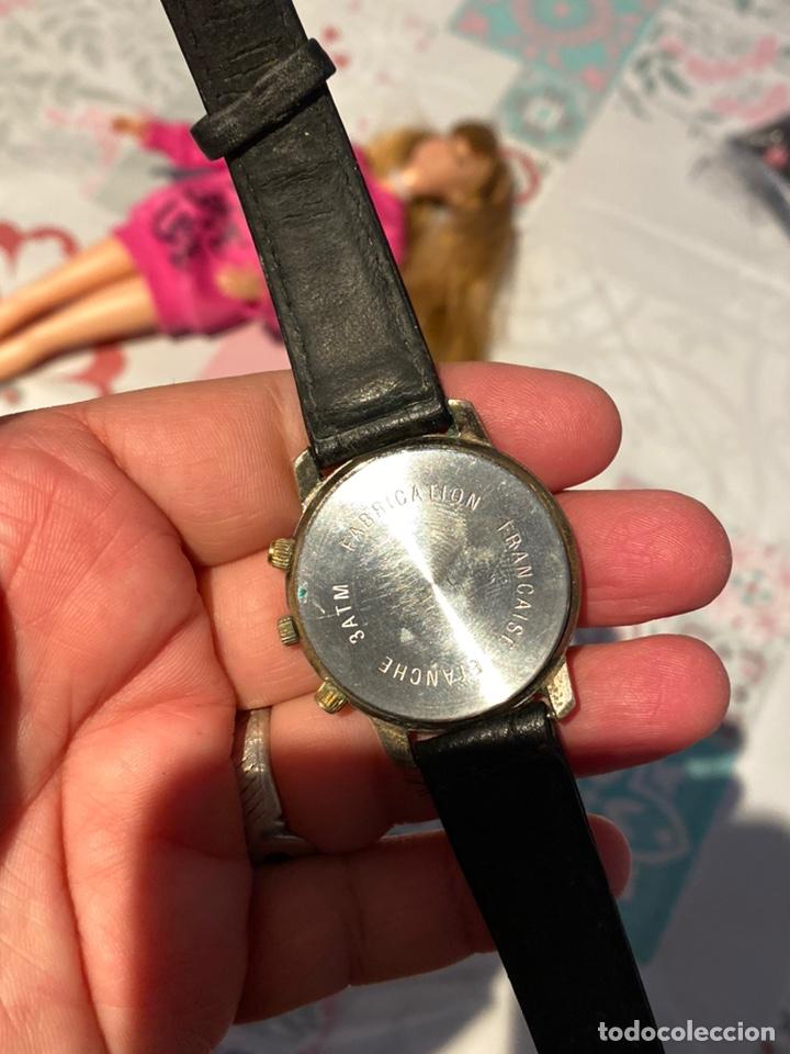 Vintage: Antiguo reloj francés raro cronógrafo con dos biseles.funciona perfectamente - Foto 6 - 235601930