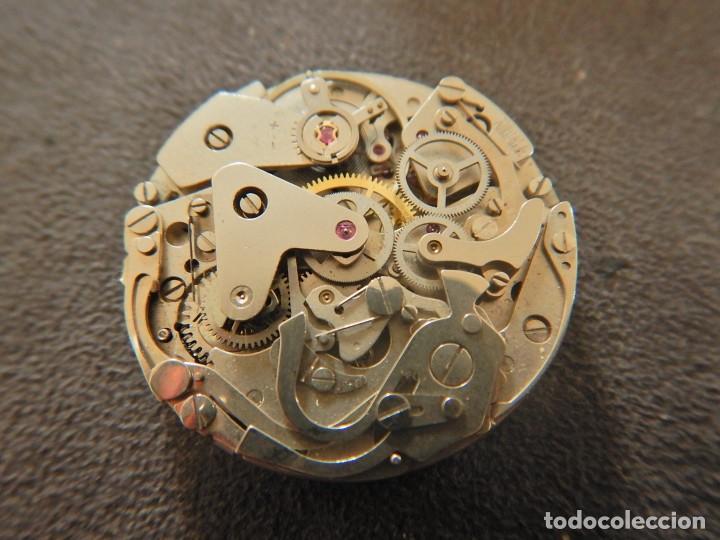 Vintage: Reloj cronógrafo manual Halcon Valjoux 7733 - Foto 5 - 236512400