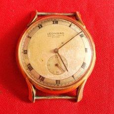 Vintage: RELOJ LEONIDAS SAINT-IMIER SUISS FUNCIONA .MIDE 37MM DIAMETRO. Lote 236543970