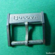 Vintage: HEBILLA BULOVA. Lote 236636995