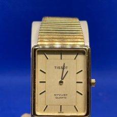 Vintage: RELOJ TISSOT STYLIST QUARTZ ANTIGUO STOCK NO FUNCIONA. Lote 237581180