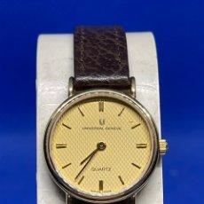 Vintage: RELOJ UNIVERSAL GENEVE QUARTZ DE CHICA NUEVO DE ANTIGUO STOCK. Lote 237582330