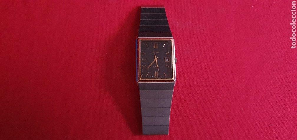 RELOJ BULOVA CUARZO . MIDE 25MMX 27MM (Relojes - Relojes Vintage )