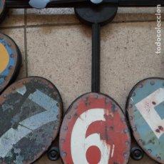 Vintage: PRECIOSO RELOJ DE PARED VINTAGE GIGANTE. Lote 242009195
