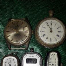 Vintage: CINCO RELOJES. Lote 243464150