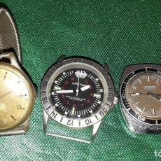 Vintage: TRES RELOJES. Lote 243466920