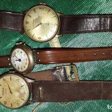 Vintage: TRES RELOJES. Lote 243467045