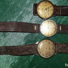 Vintage: TRES RELOJES. Lote 243467460