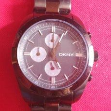 Vintage: RELOJ DKNY CHRONOGRAPH CUARZO.MIDE 40 MM DIAMETRO. Lote 244506880