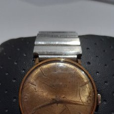 Vintage: RELOJ SWISS 17 RUBIS COLECCIONISTA, ANTIMAGNETIC ( OVIPER ). FUNCIONANDO.. Lote 244752390