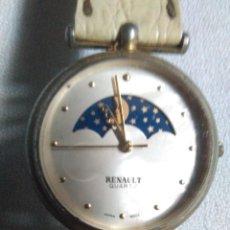 Vintage: ANTIGUO RELOJ DE PULSERA RENAULT QUARTZ CON CORREA DE PIEL.JAPAN MOUT. Lote 244822020