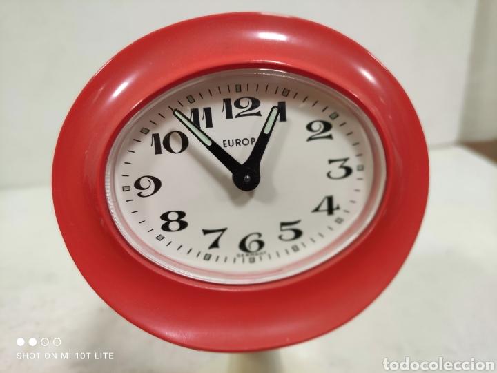 Vintage: Reloj despertador EUROPA.Años 70 .Para coleccionistas.SPACE AGE. - Foto 2 - 244835095