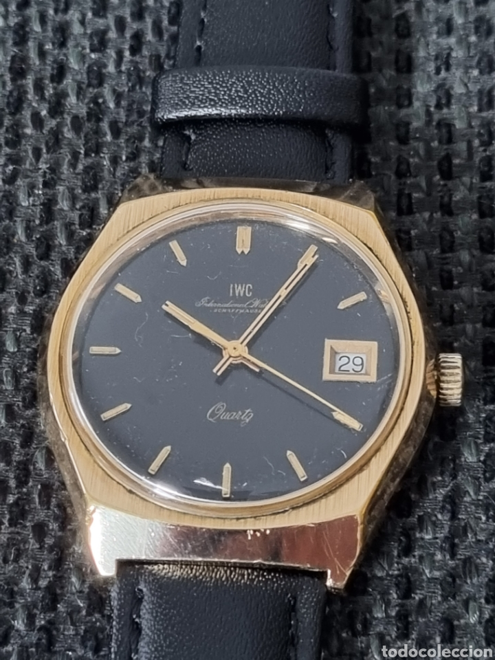 IWC SCHAFFHAUSEN CUARZO (Relojes - Relojes Vintage )