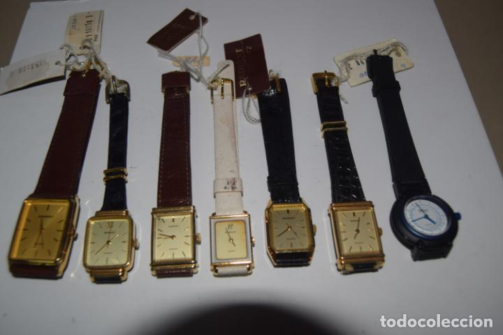 Vintage: 48 relojes resto de tienda - Foto 6 - 244875555